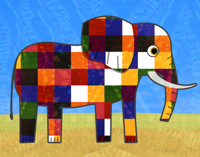 The Patchwork Elephant