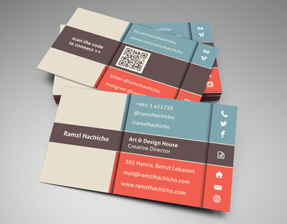 Elegant Stylish Business Card Template