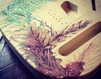 Custom Telecaster Guitar