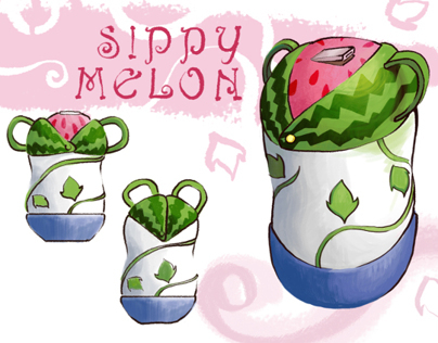 Sippy Melon: Childrens bottle