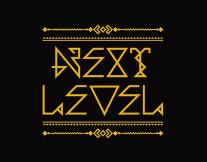 NEXT LEVEL Typeface