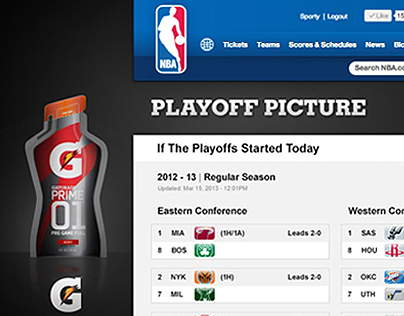 NBA.com Site Design