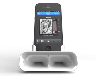 Passive Amplifier for iPhone