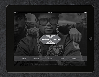 adidas Originals Collective iPad app