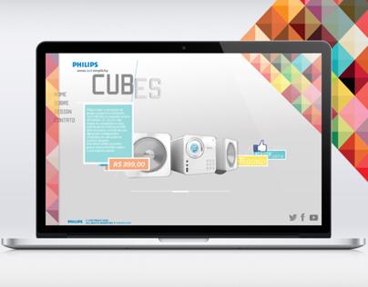 Hotsite - Philips Cubes
