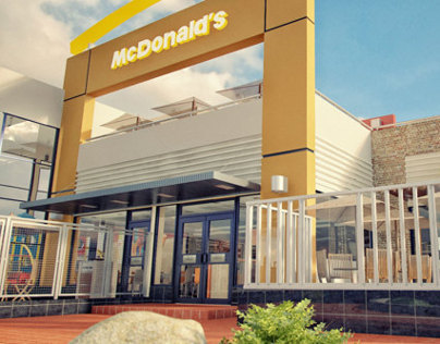3d McDonalds Visualization