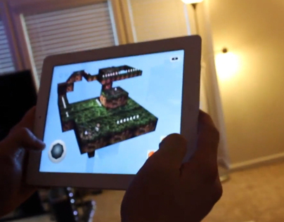 Centric Dare: Augmented Reality iPad App in 100 Hours