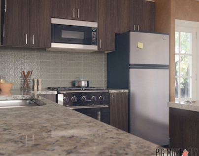 3d Kitchen visualization