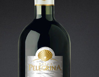 Wine label design Bella Pelegrina
