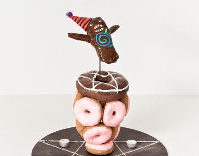 Voodoo Doughnuts Centrepiece