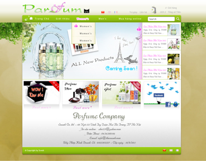 parfum website