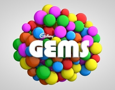 cadbury gems (new logo and branding)