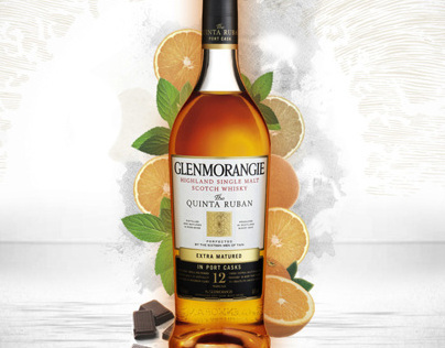 Glenmorangie Flavour  Illustrations