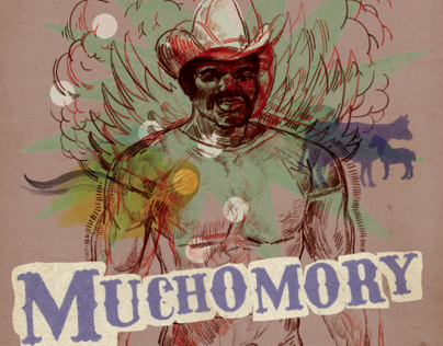 poster for rockabilly band Muchomory
