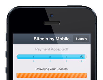 Bitcoin by Mobile - Beta