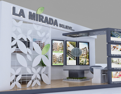 Exhibition Design: LA MIRADA BOOTH 1