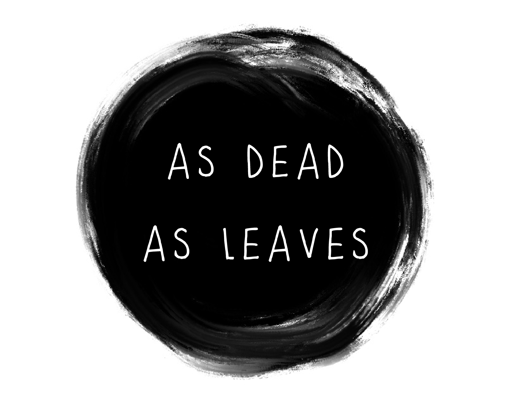 AS DEAD AS LEAVES - Illustration publication