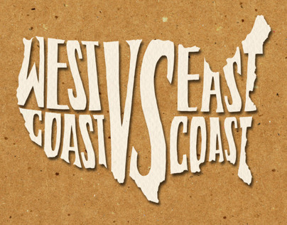 West Coast VS. East Coast Book