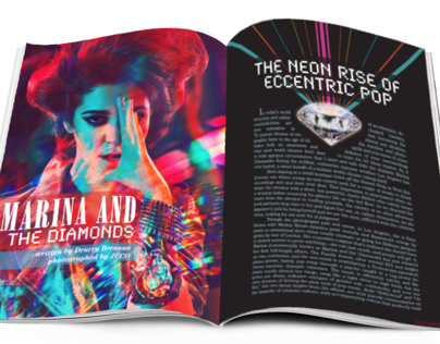 Magazine Spread Layout