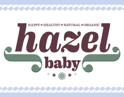 HAZEL BABY   Logo and Repeat Patterns