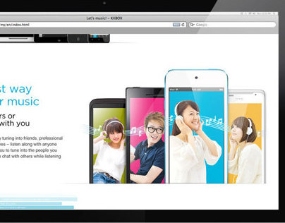 KKBOX website images
