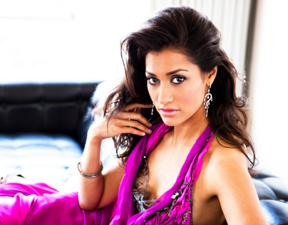 Janina Gavankar of the CW hit show ARROW for Genlux.
