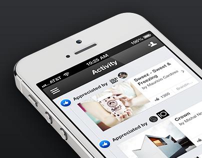 Behance Official iPhone App 2.0