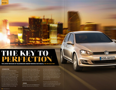VW Golf Magazine Review