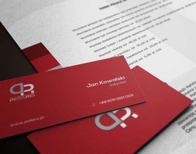 Pidaro - Corporate Identity