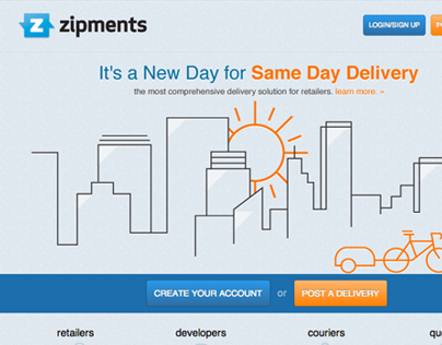Zipments - Marketing Site 2.0