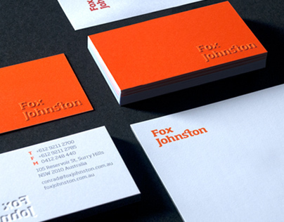 Fox Johnston Branding & Website