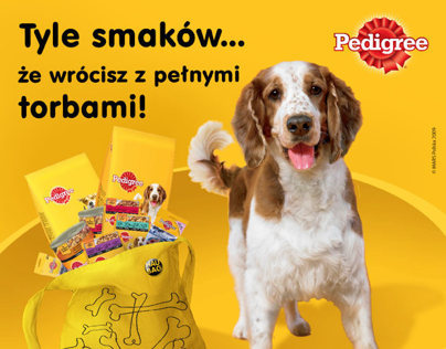Pedigree & Whiskas pet food promotion