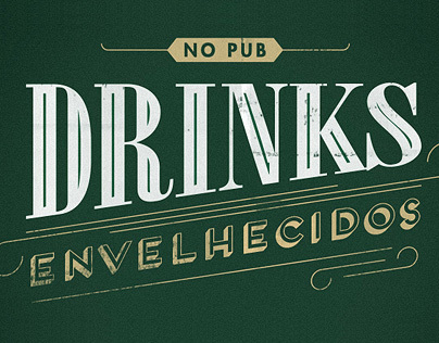 Drinks Envelhecidos - The Basement English Pub