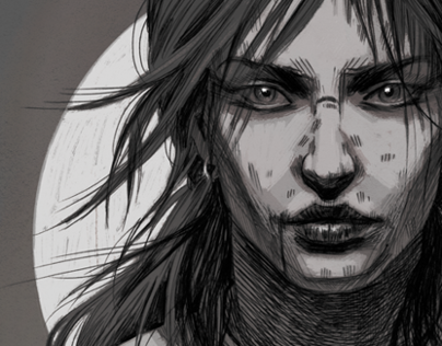 Lara Croft Art Contest Submissions w/ Concept Sketches