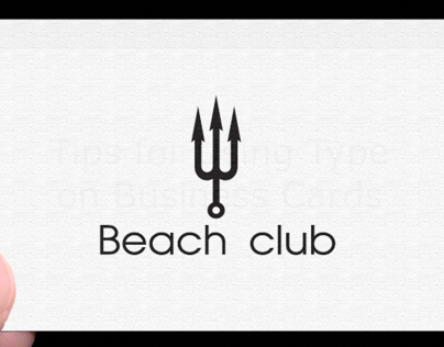 beach club logo