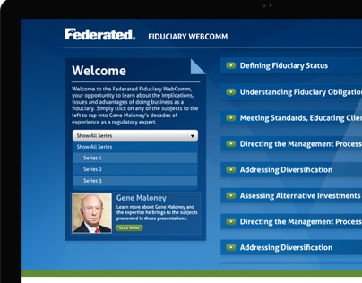 Federated Investors | Fiduciary Webcomm Microsite