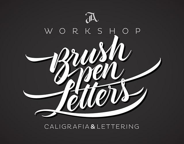 Workshop Brush pen Letters