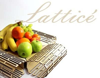 Lattice Fruit bowl