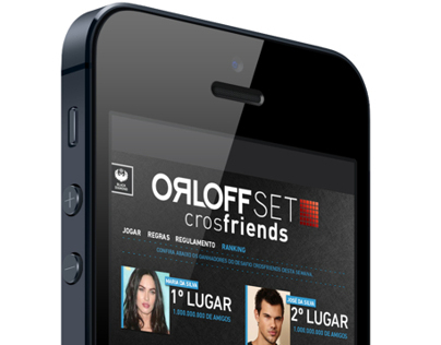 Aplicativo OrloffSET crosfriends
