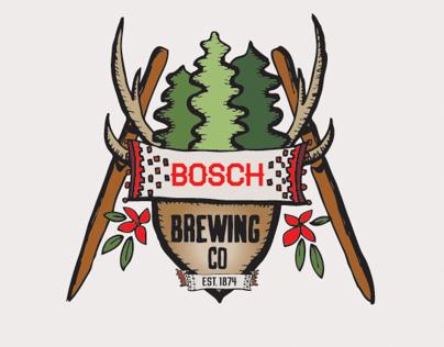 Bosch Brewing Company Logo and Branding