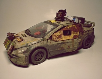 post-apocalyptic car