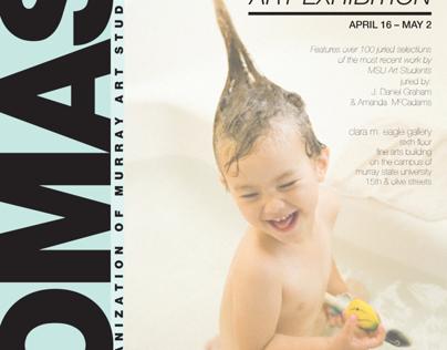 OMAS Annual Art Exhibition Poster