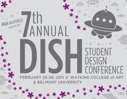 AIGA Nashville, DISH Student Design Conference