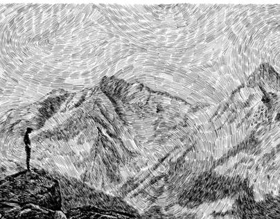 Fingerprint - Child on the rock