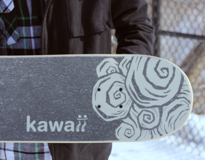 Kawaii Skateboard
