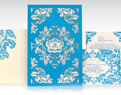 Fourth of July Wedding Invitation