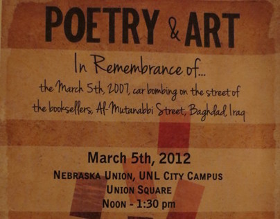 Poetry & Art Flyer