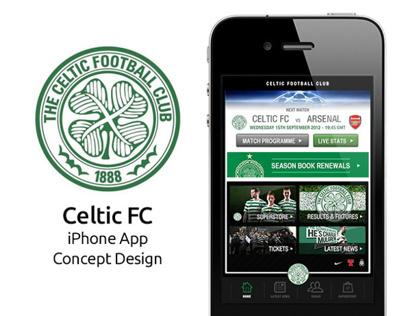 Celtic Fc iPhone App Concept