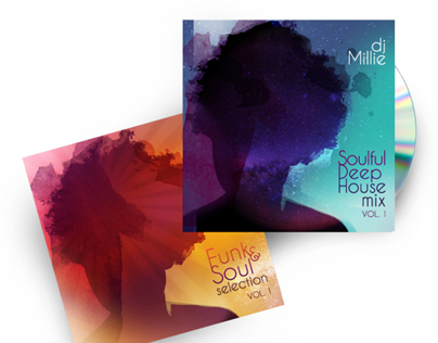 DJ Millie CD Design