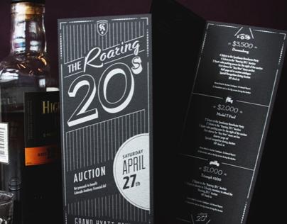 The Roaring 20s invite for Colorado Academy